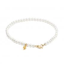 Ожерелье из белого жемчуга Акойя