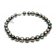 Ожерелье из крупного морского жемчуга Таити