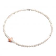 Жемчужное ожерелье с кораллами