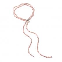 Ожерелье Роули из жемчуга цвета лаванды