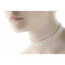 Ожерелье Лолита из белого жемчуга