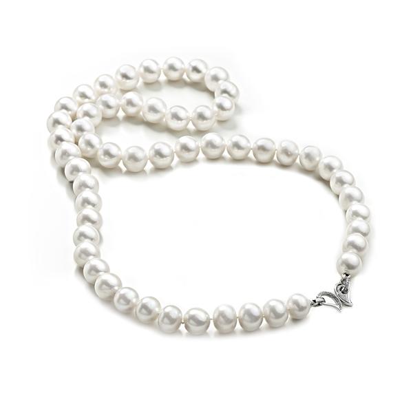 Ожерелье Люмьер из крупного пресноводного жемчуга