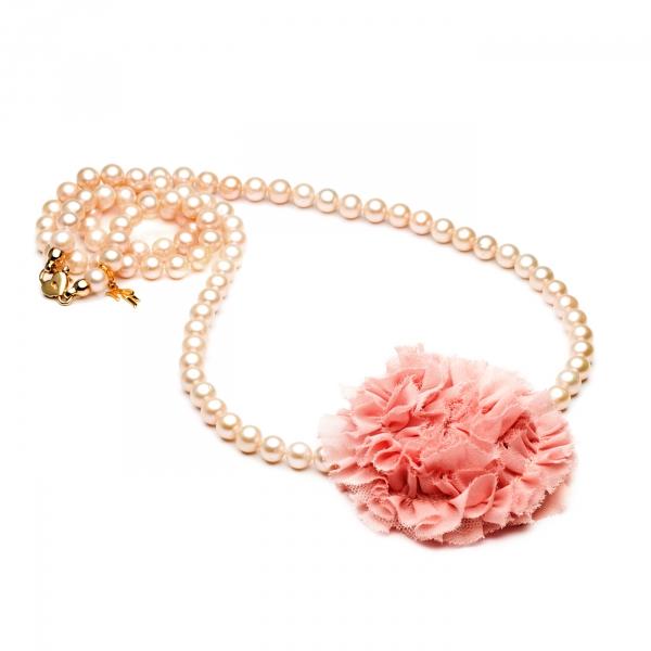 Ожерелье Оранж с цветком