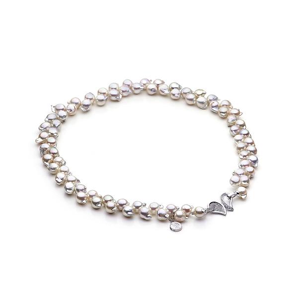 Ожерелье из морского барочного жемчуга