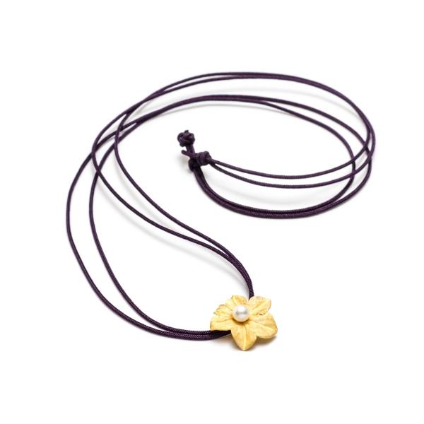 Купить Подвески Подвеска Цветок с жемчужиной  Подвеска Цветок с жемчужиной
