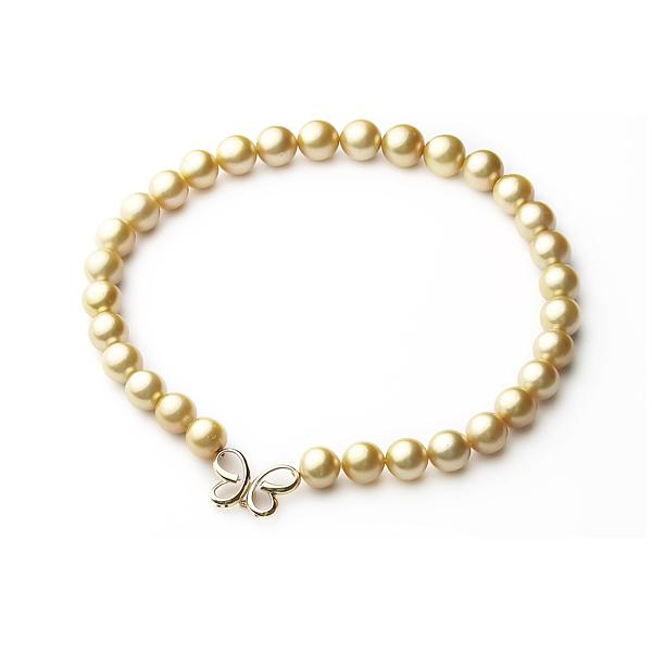 Ожерелье «Южная Бабочка» из жемчуга Южных морей