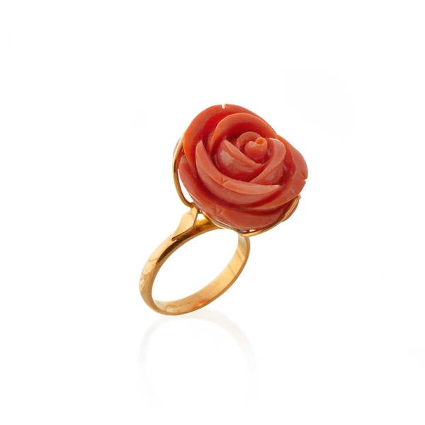 Золотое кольцо Коралл